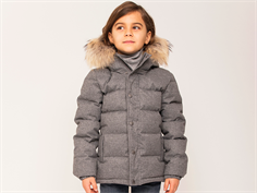 Ver de Terre winter jacket gray melange